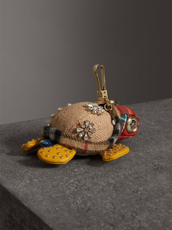 Beatrice The Turtle Cotton Charm in Natural/multicolour | Burberry Hong Kong - cell image 3