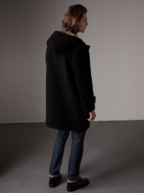 The Greenwich Duffle Coat in Black - Men | Burberry Australia - cell image 2