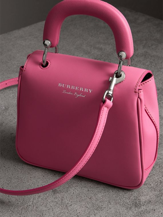 The Small DK88 Top Handle Bag in Rose Pink - Women | Burberry United Kingdom - cell image 2