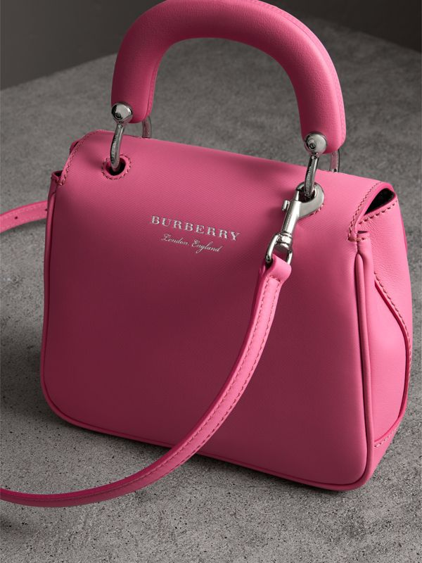 The Small DK88 Top Handle Bag in Rose Pink - Women   Burberry - cell image 2