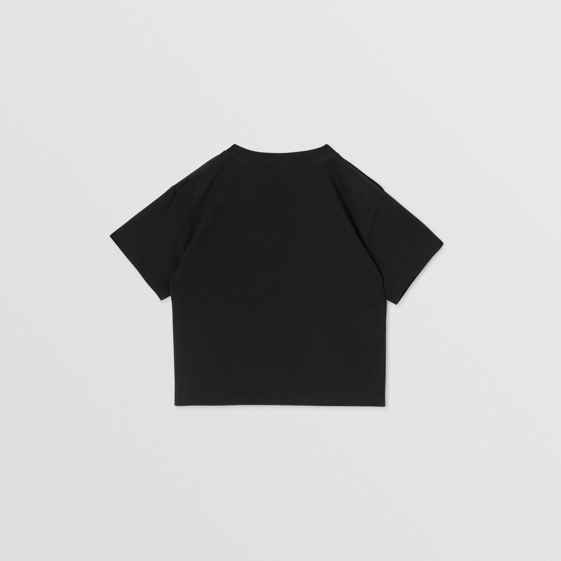 Baumwoll-T-Shirt mit Burberry-Logo (Schwarz) - Kinder | Burberry - Galerie-Bild 4
