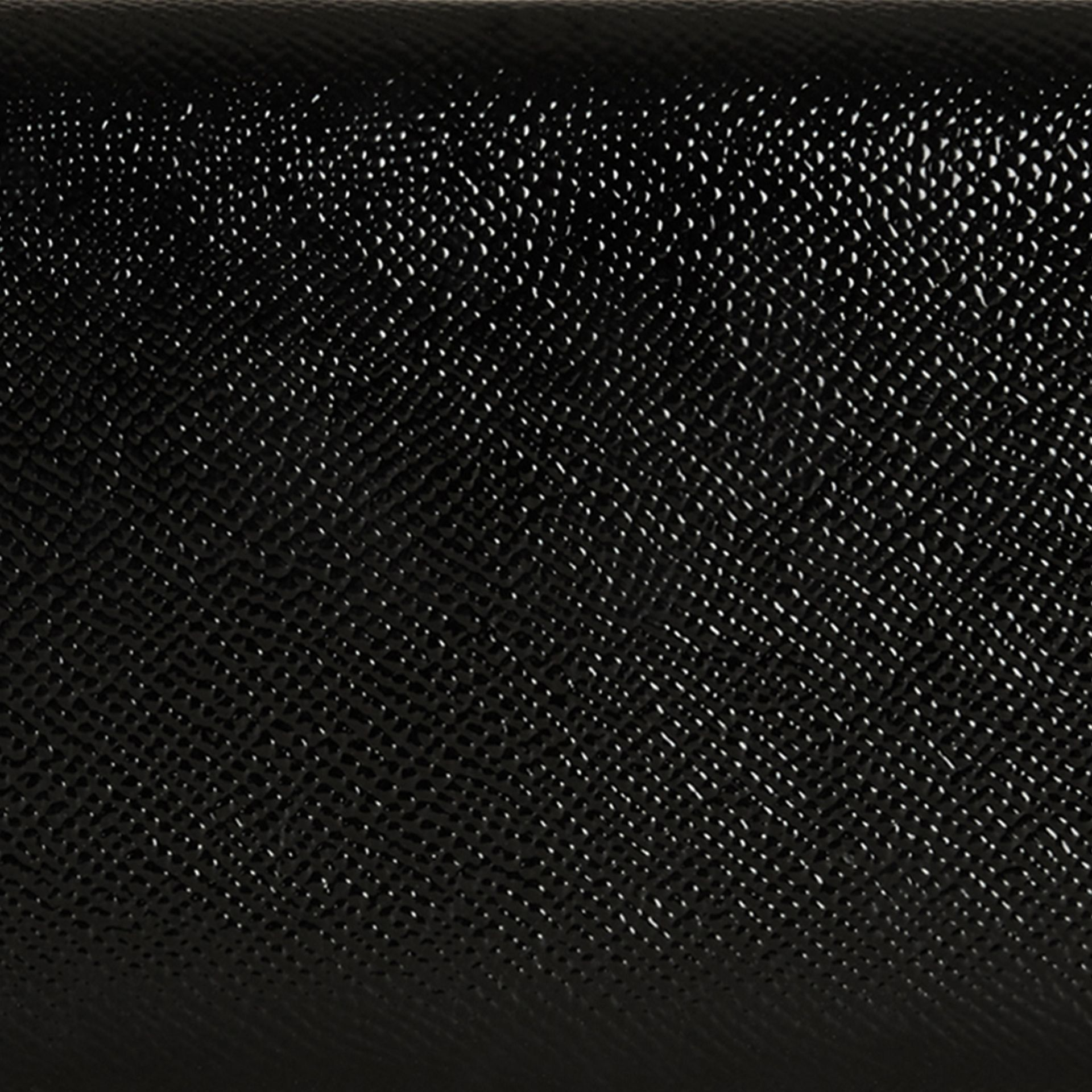 Black Patent London Leather Continental Wallet Black - gallery image 2