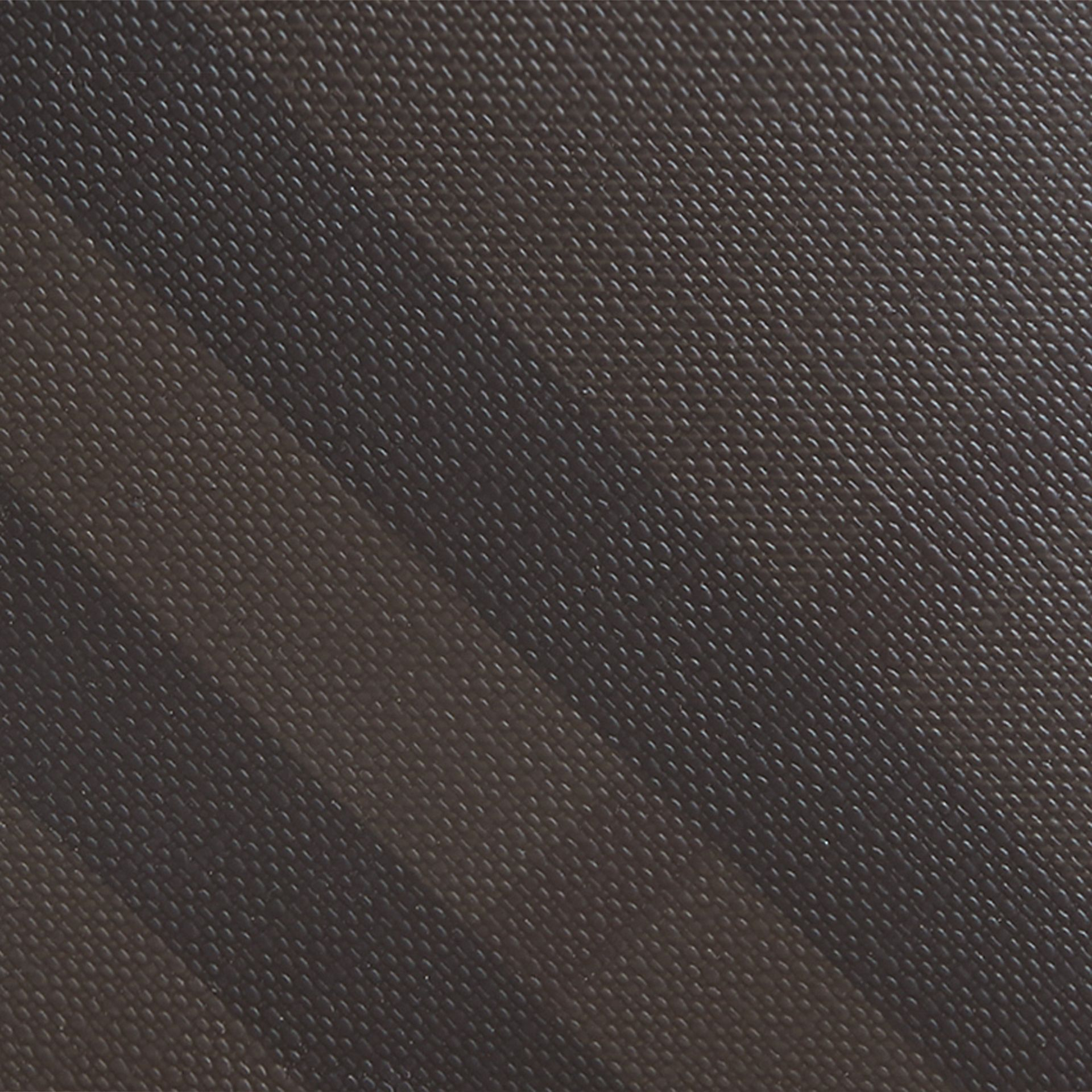London Check International Bifold Coin Wallet in Chocolate/black - Men | Burberry - gallery image 2