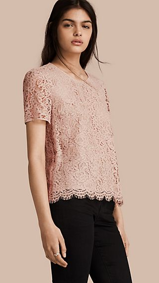 Corded Lace T-shirt