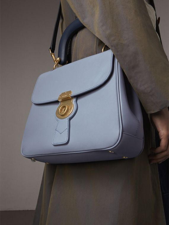 The Medium DK88 Top Handle Bag in Slate Blue - Women | Burberry - cell image 3