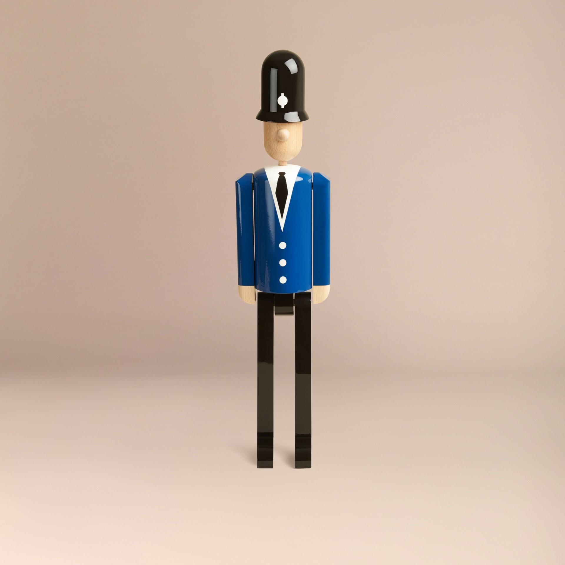 Multicolore Marionnette en bois à l'effigie du Bobby en édition limitée - photo de la galerie 4