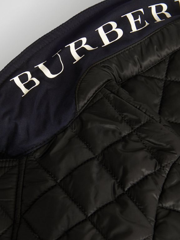 Lightweight Diamond Quilted Jacket in Black | Burberry Australia - cell image 1