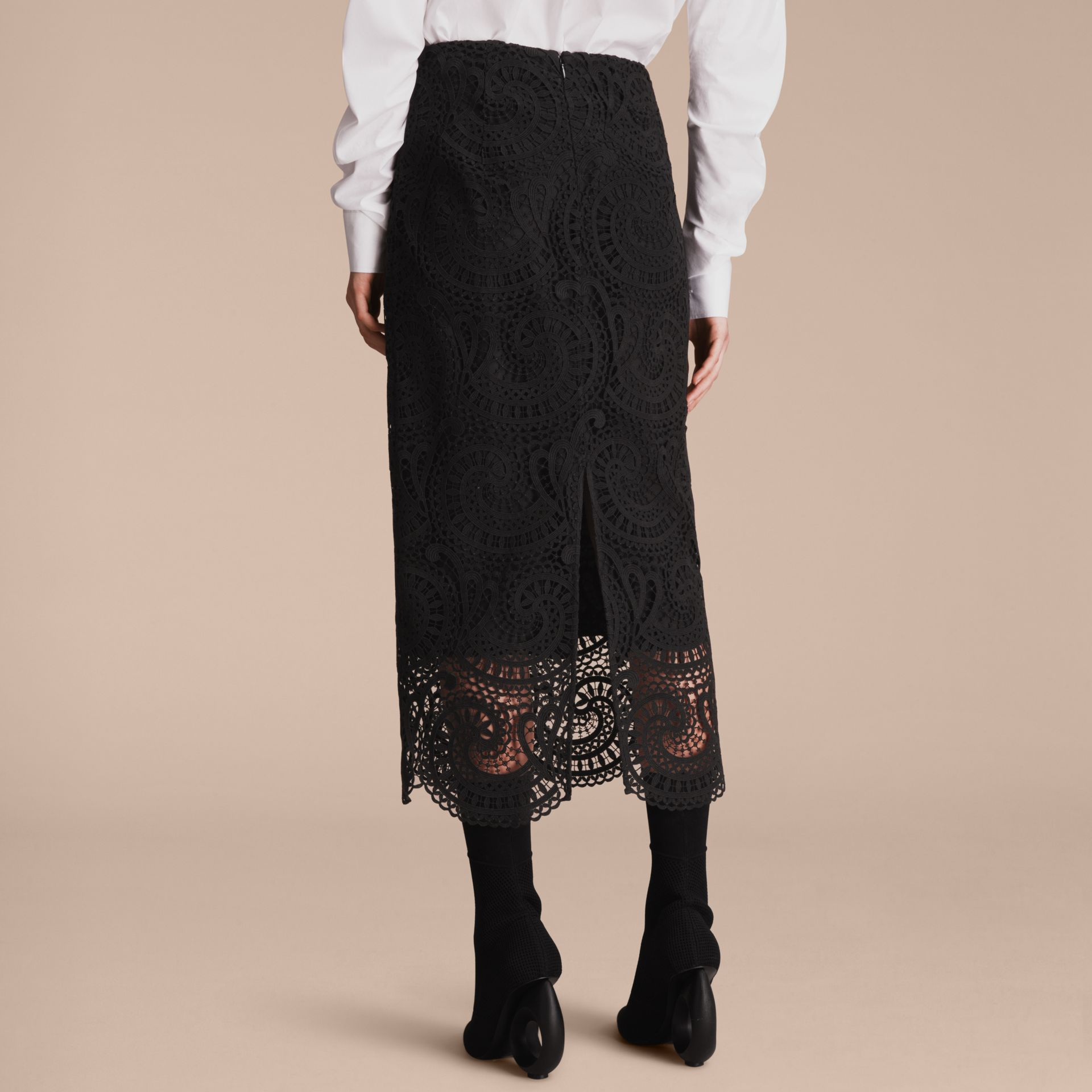 Macramé Lace Skirt - gallery image 3