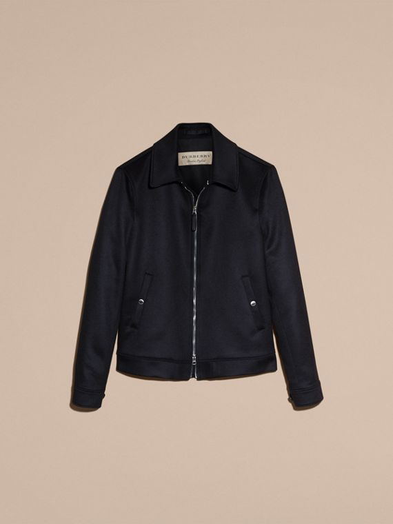 Navy Cashmere Jacket - cell image 3