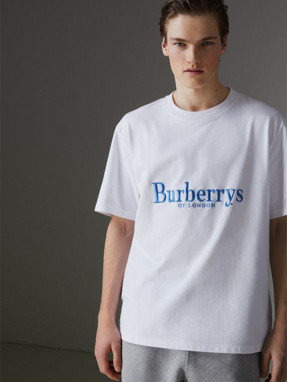 Reissued Cotton T-shirt in White