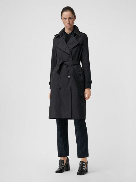 Trench coat Heritage The Kensington lungo (Blu Notte)