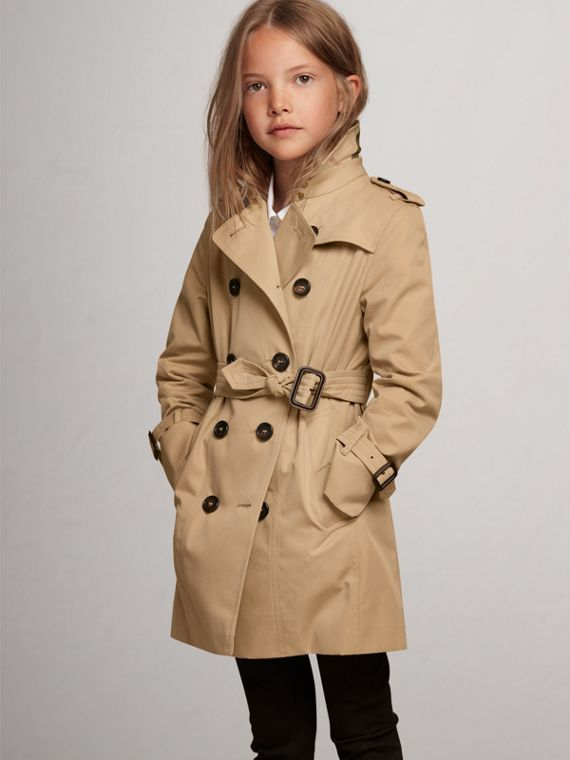 The Sandringham – Heritage Trench Coat in Honey