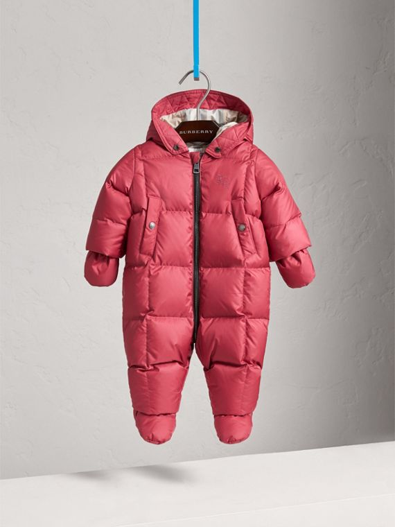 Down-filled Puffer Suit in Peony Rose | Burberry United Kingdom - cell image 2