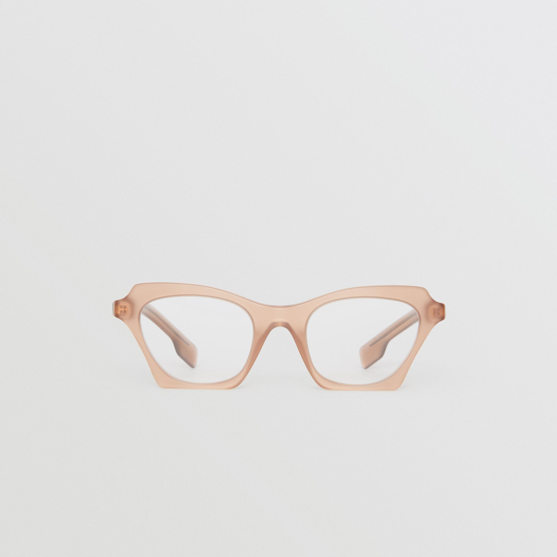 Butterfly Optical Frames in Brown - Women | Burberry United Kingdom - gallery image 0