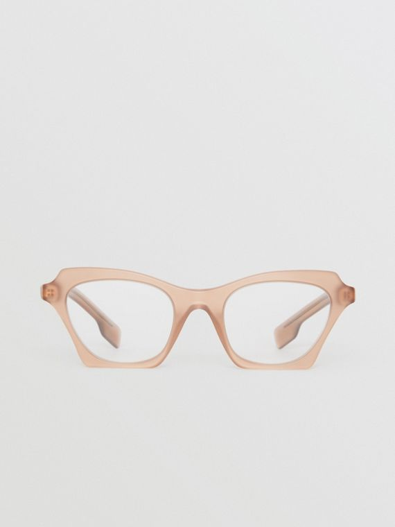 Butterfly Optical Frames in Brown