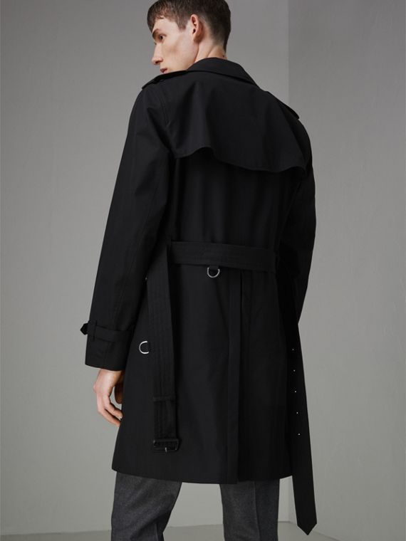 The Chelsea Heritage Trench Coat in Black - Men | Burberry Hong Kong - cell image 2