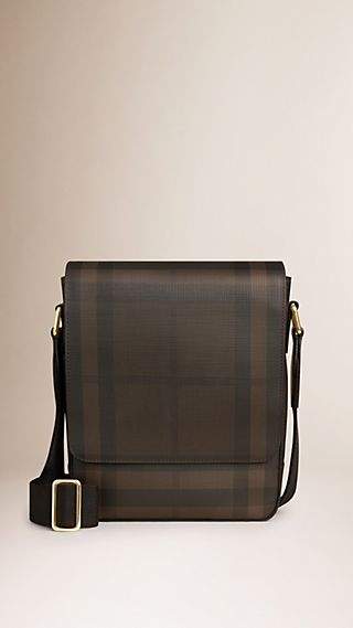 Crossbody-Tasche in Smoked Check