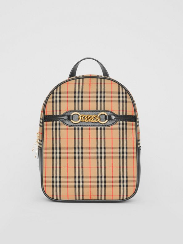 The 1983 Check Link Backpack in Black