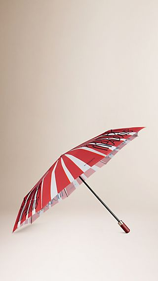 Book Cover Print Folding Umbrella