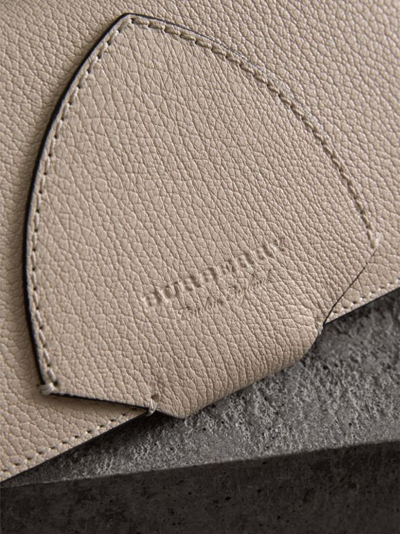 Equestrian Shield Two-tone Leather Continental Wallet in Stone - Women | Burberry Canada - cell image 1