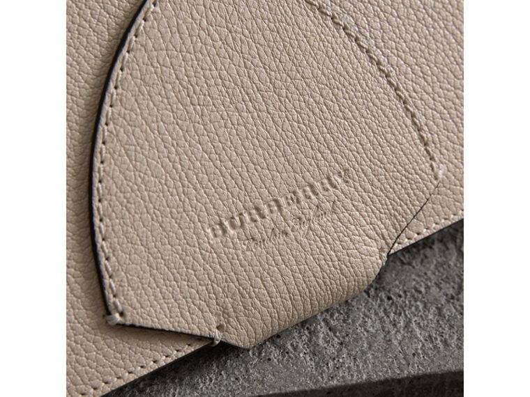 Equestrian Shield Two-tone Leather Continental Wallet in Stone - Women | Burberry - cell image 1
