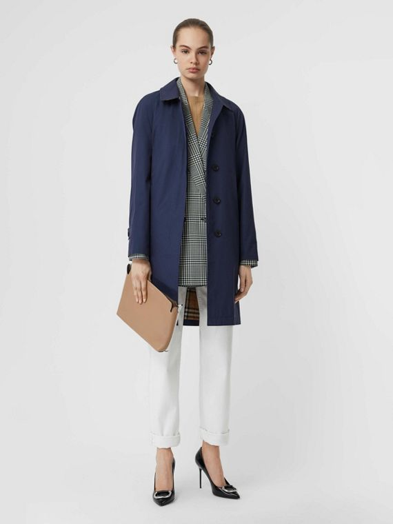 The Camden Car Coat (Dunkles Saphirblau)