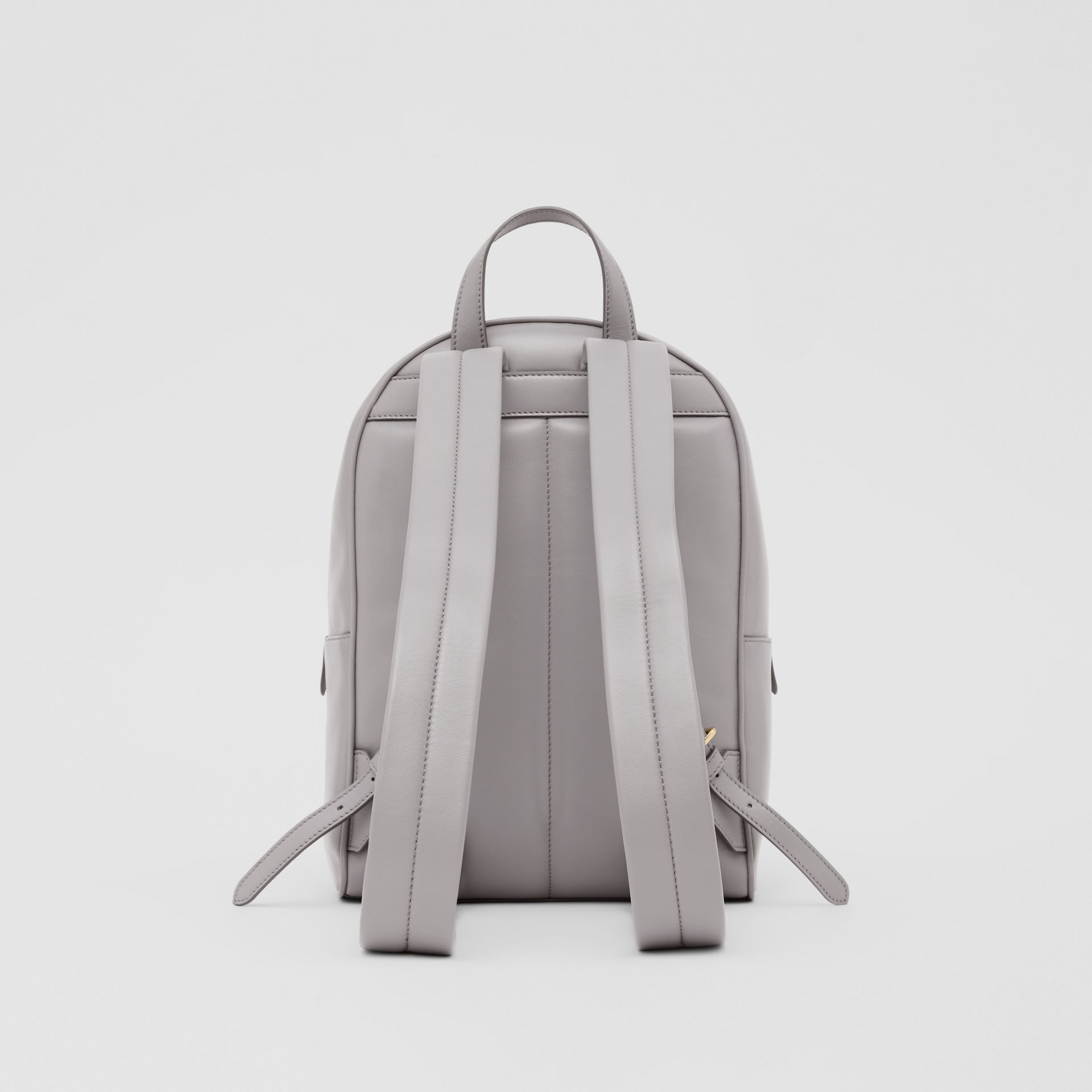 Quilted Lambskin Backpack in Cloud Grey - Women | Burberry United States - gallery image 7