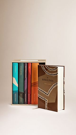 Coffret de six livres de Bruce Chatwin en édition limitée