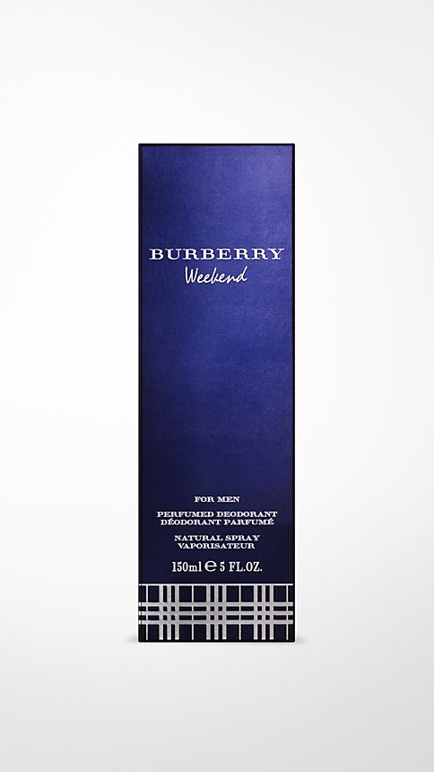 Blue Burberry Weekend For Men  Deodorant Natural Spray 150ml - Image 2