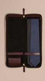 Grainy Leather Tie Case