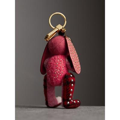 Burberry Sandra The Basset Hound Cashmere Charm - Red ml2n9W8