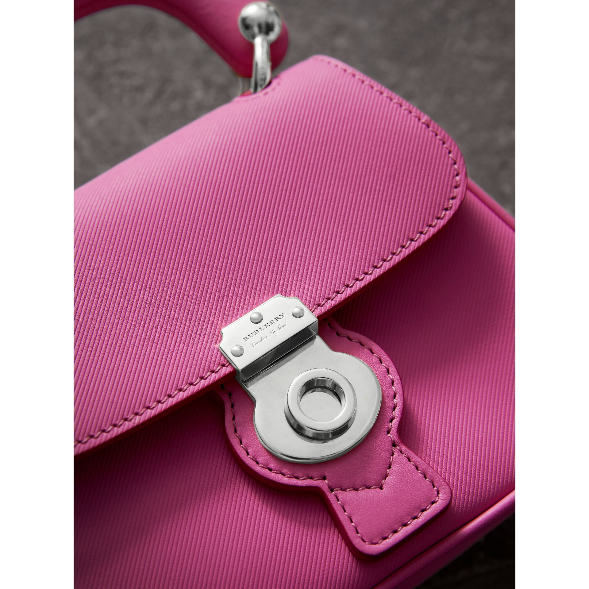 The Mini DK88 Top Handle Bag in Rose Pink - Women | Burberry - gallery image 1