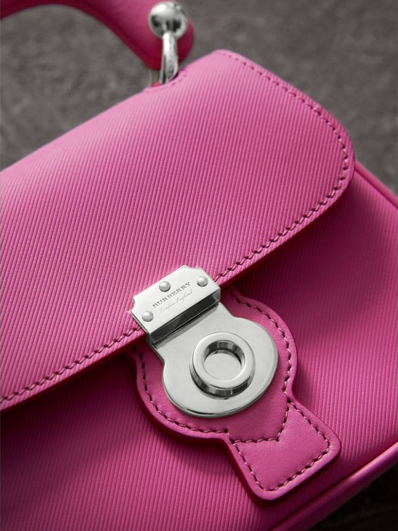 The Mini DK88 Top Handle Bag in Rose Pink - Women | Burberry - cell image 1