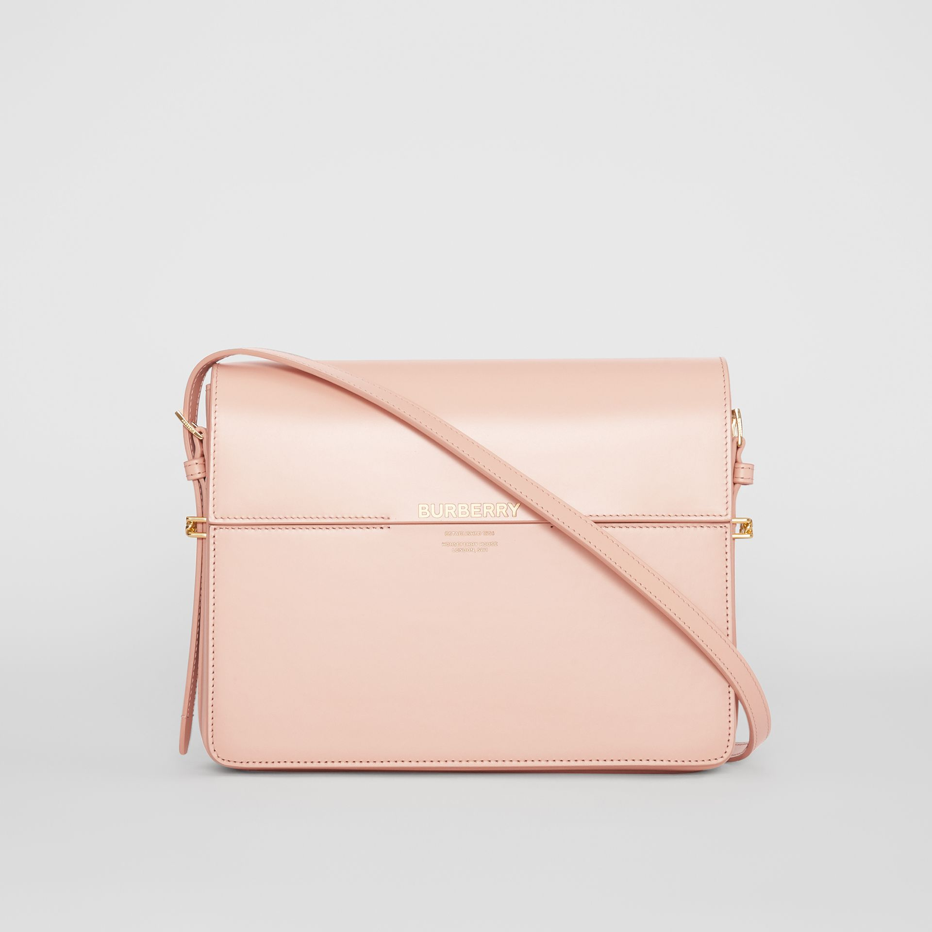 Large Leather Grace Bag in Soft Blush - Women | Burberry - gallery image 0