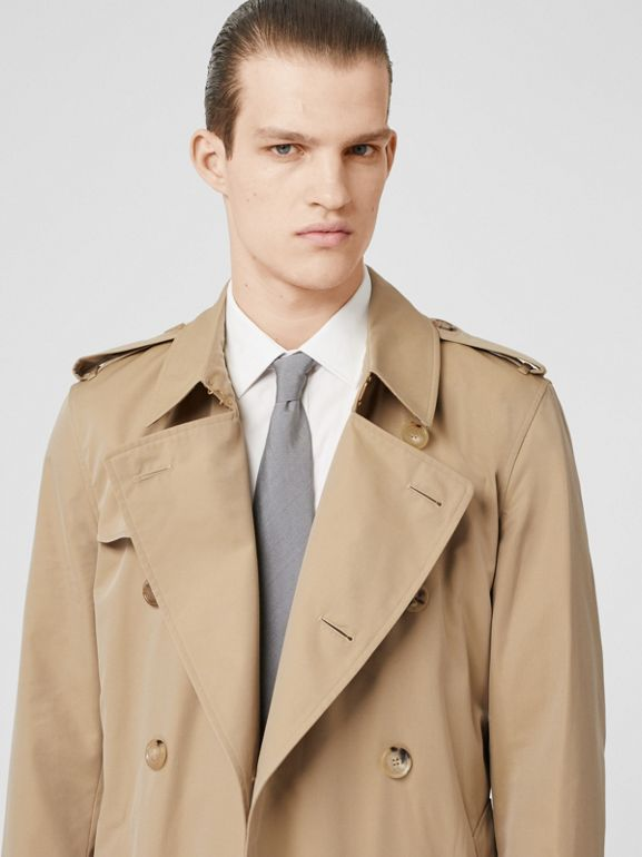 The Kensington Heritage Trench Coat in Honey - Men | Burberry Canada - cell image 1