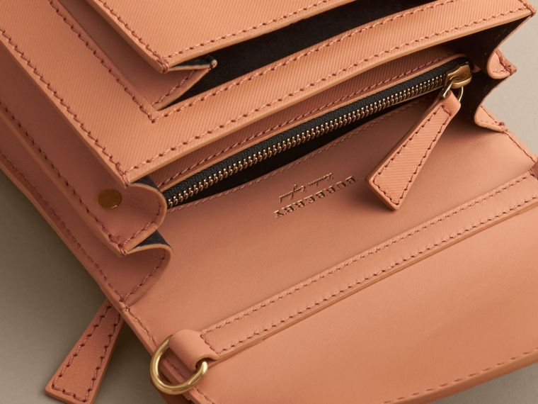 The Small DK88 Satchel in Pale Clementine - Men | Burberry - cell image 4