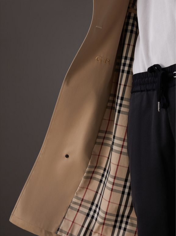Gosha x Burberry Two-tone Trench Coat in Honey - Men | Burberry United States - cell image 1