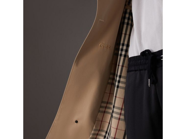 Gosha x Burberry Two-tone Trench Coat in Honey | Burberry United Kingdom - cell image 1