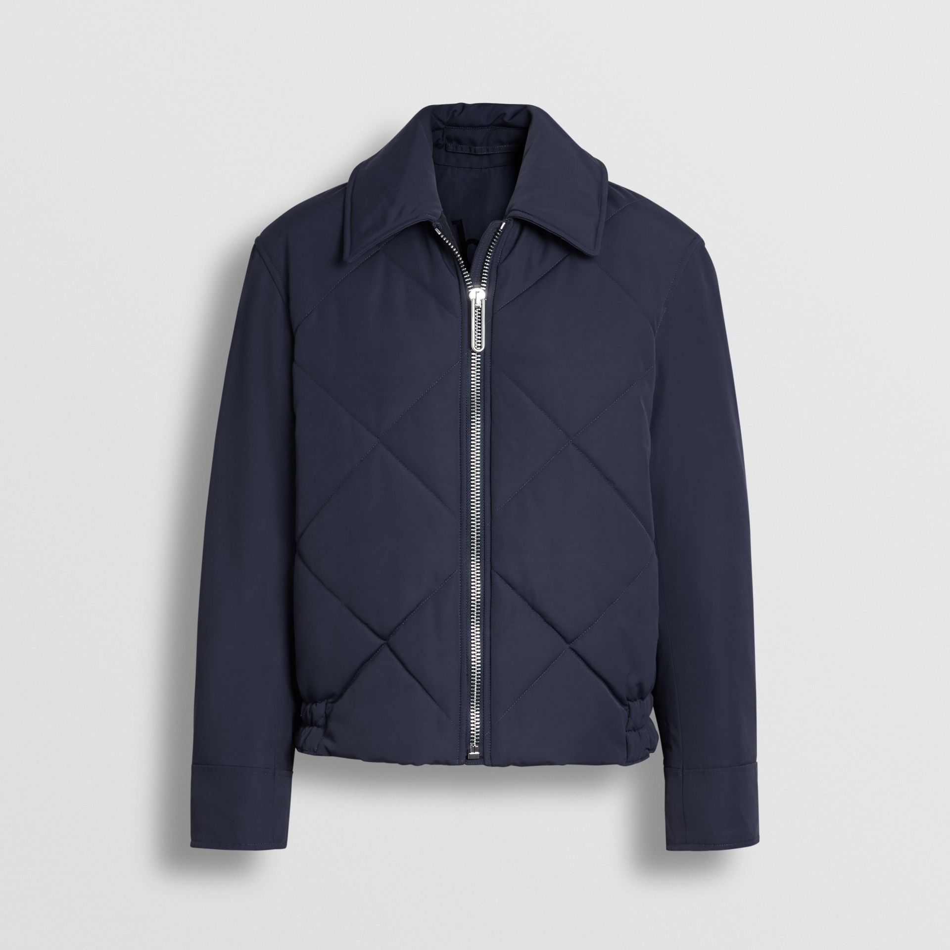 Quilted Technical Cotton-blend Jacket in Navy - Women | Burberry Singapore - gallery image 5