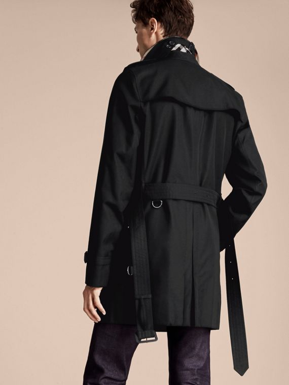 Black The Kensington – Mid-Length Heritage Trench Coat Black - cell image 2