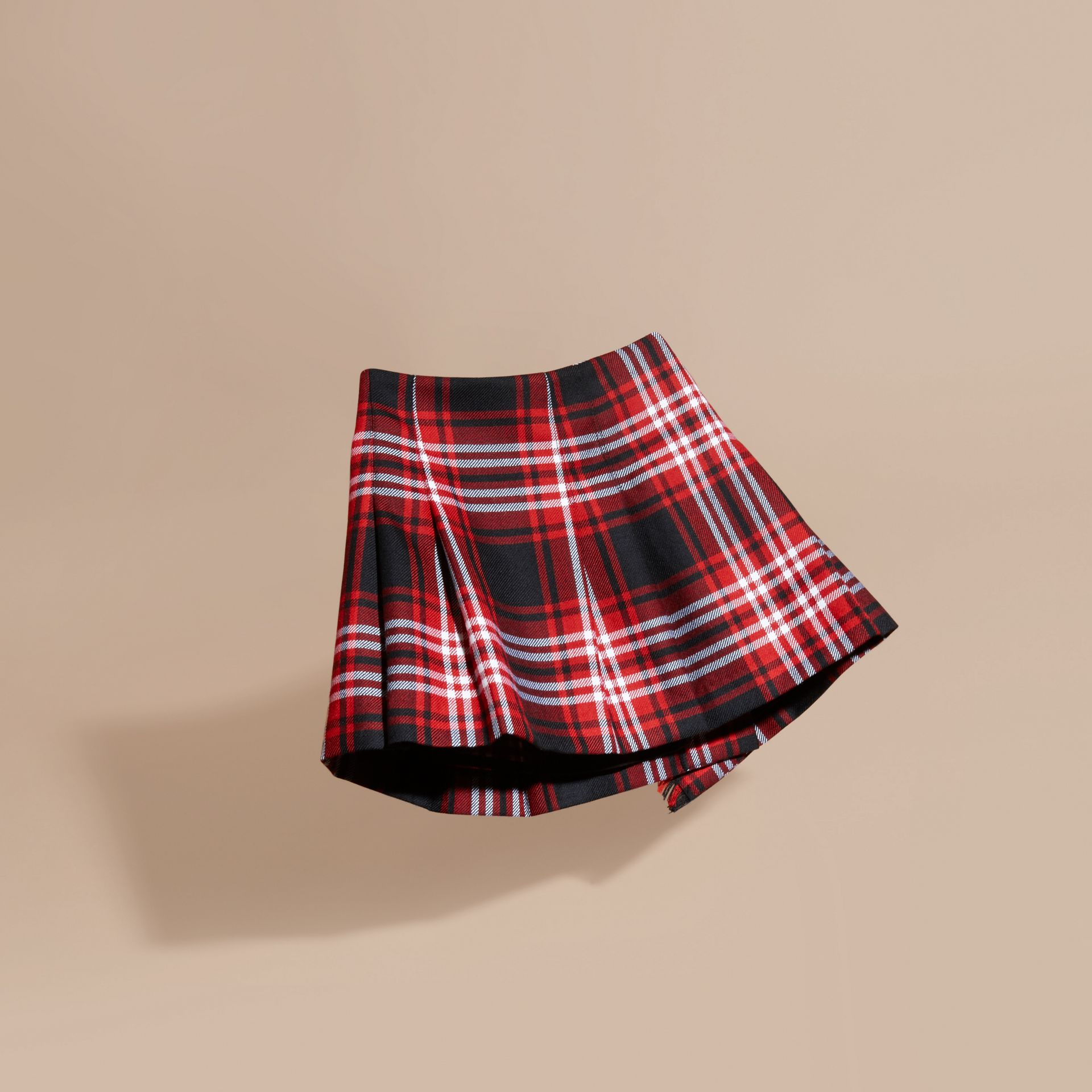 Parade red Check Wool Kilt - gallery image 4