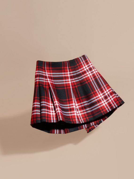 Parade red Check Wool Kilt - cell image 3