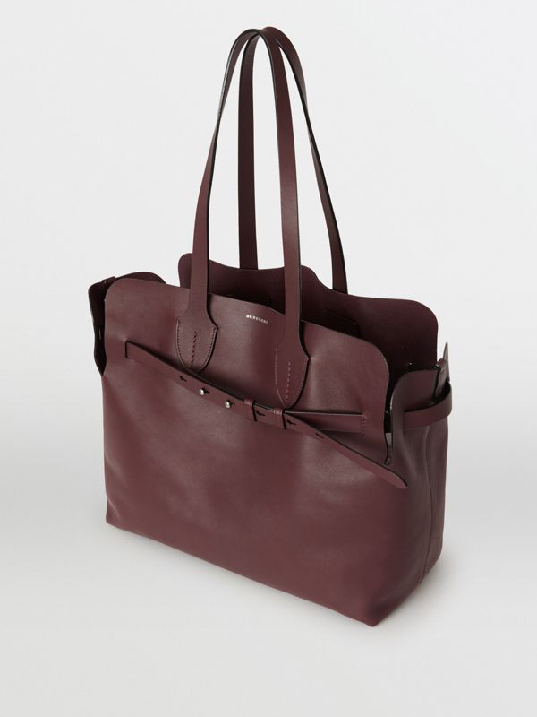Sac The Belt moyen en cuir doux (Bordeaux Intense) - Femme | Burberry - cell image 2