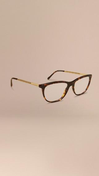 Monture œil de chat pour lunettes de vue – Collection Gabardine