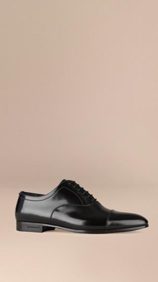 Classiche scarpe Oxford in pelle