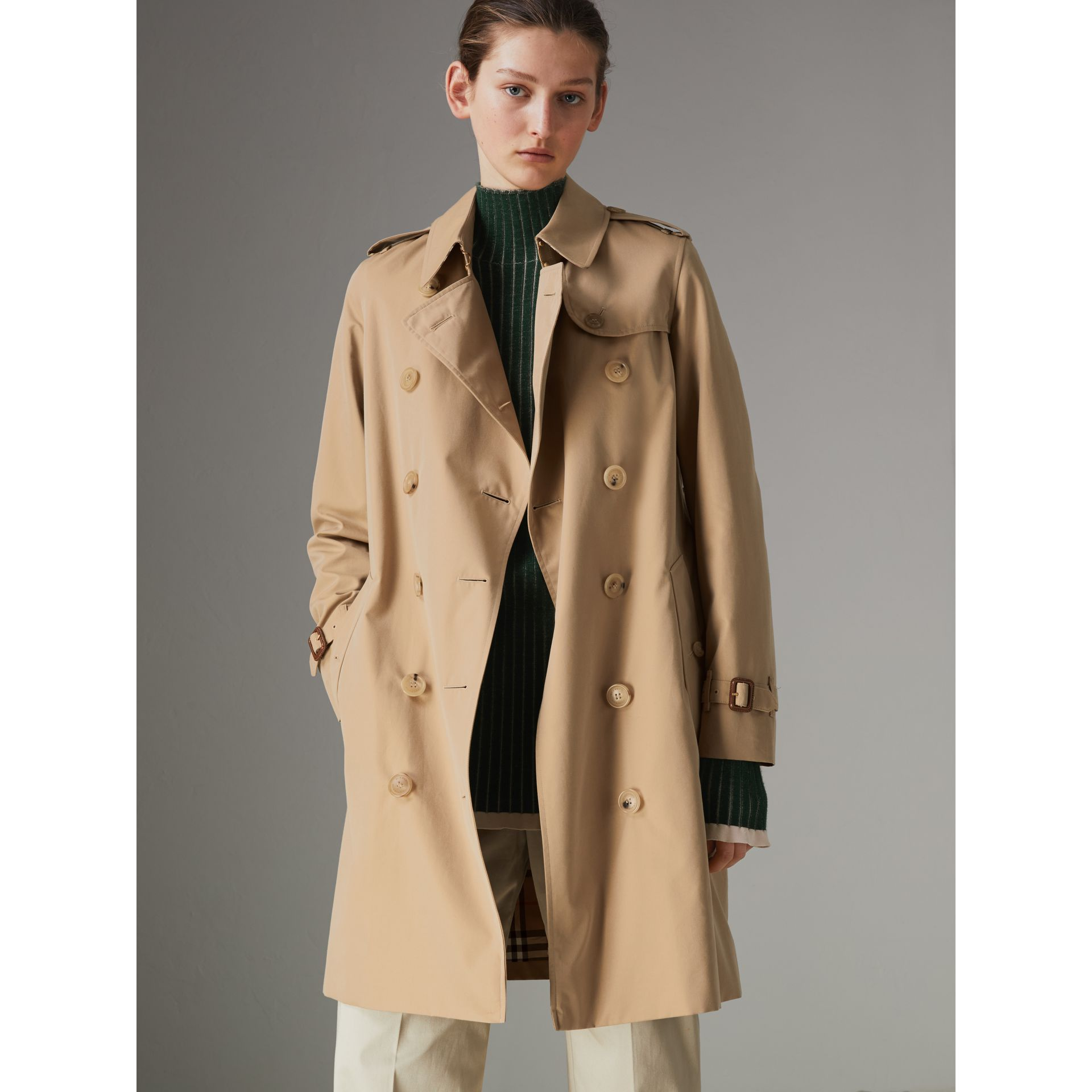 The Kensington – Trench Heritage (Miel) - Femme | Burberry - photo de la galerie 7