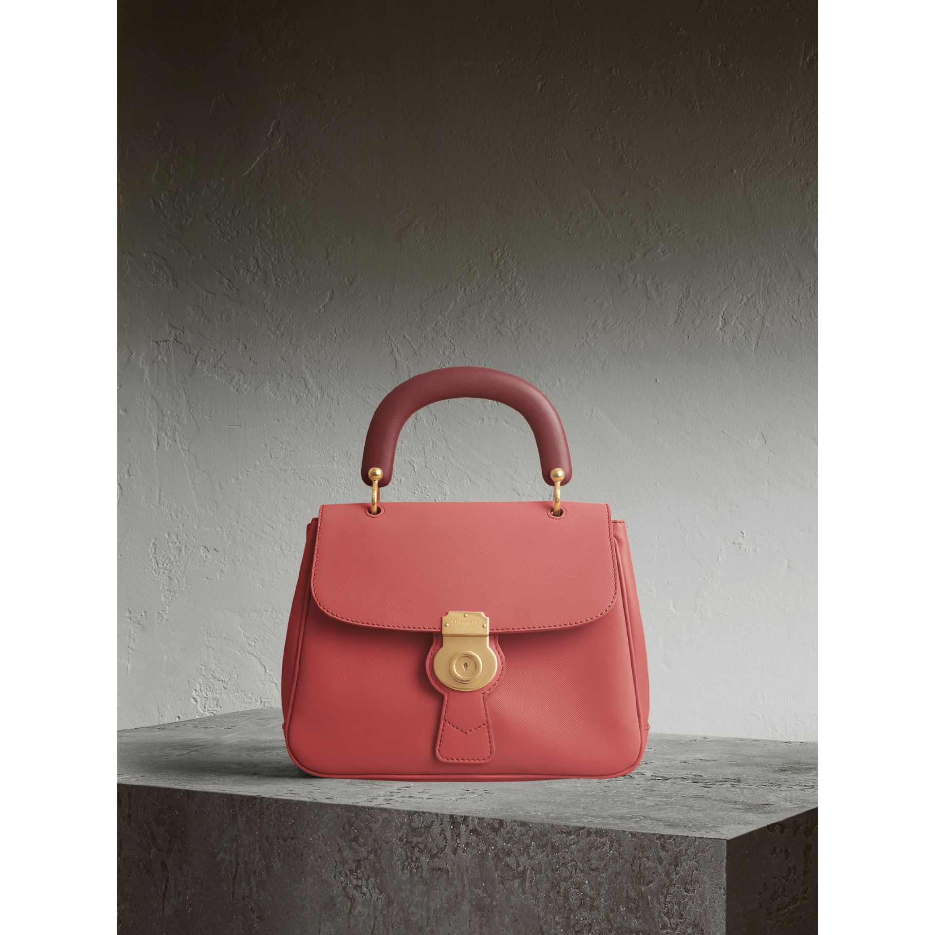 The Medium DK88 Top Handle Bag Blossom Pink - gallery image 1