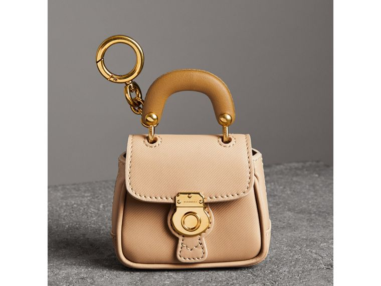 The DK88 Charm in Honey/ochre Yellow | Burberry - cell image 4