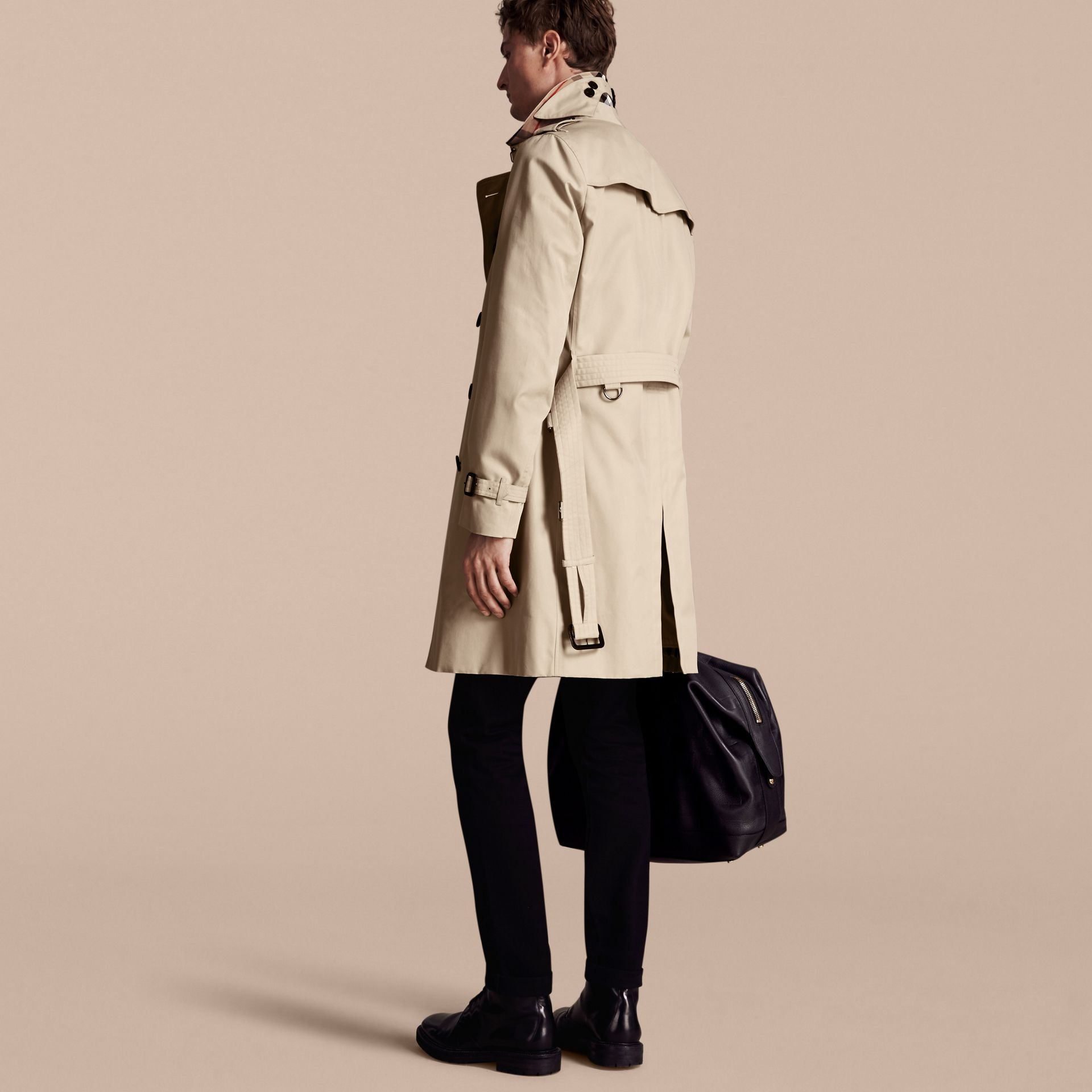 Stone Trench-coat Heritage long The Chelsea Stone - photo de la galerie 3