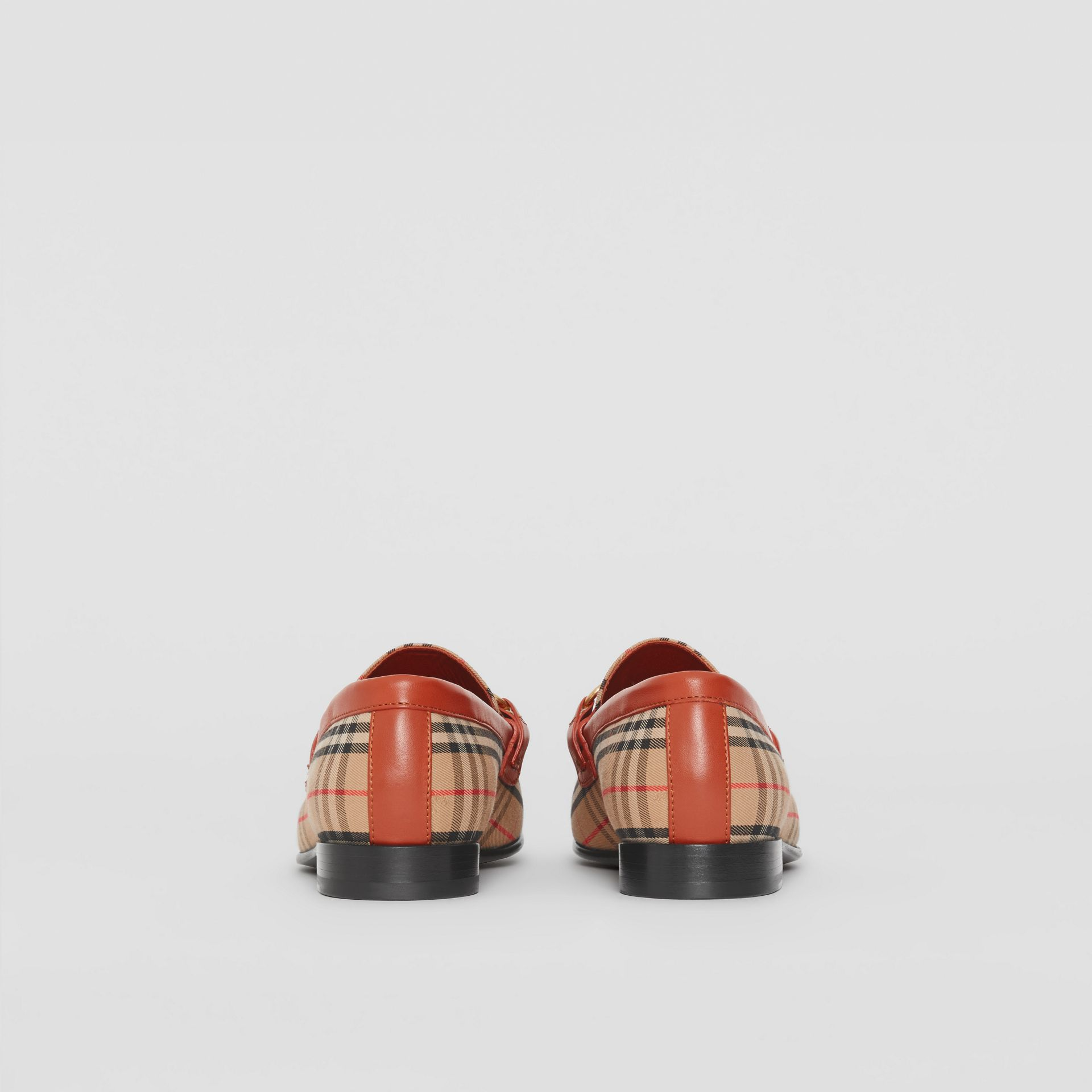 The 1983 Check Link Loafer in Brick Red - Women | Burberry - gallery image 3